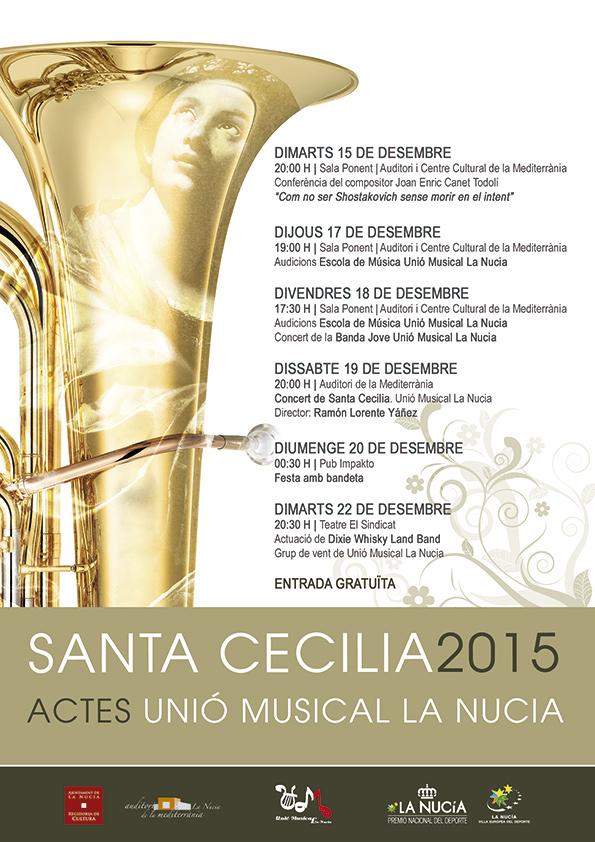 cartel santa cecilia 2015