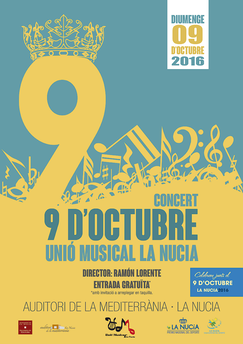 concert 9 octubre 2016